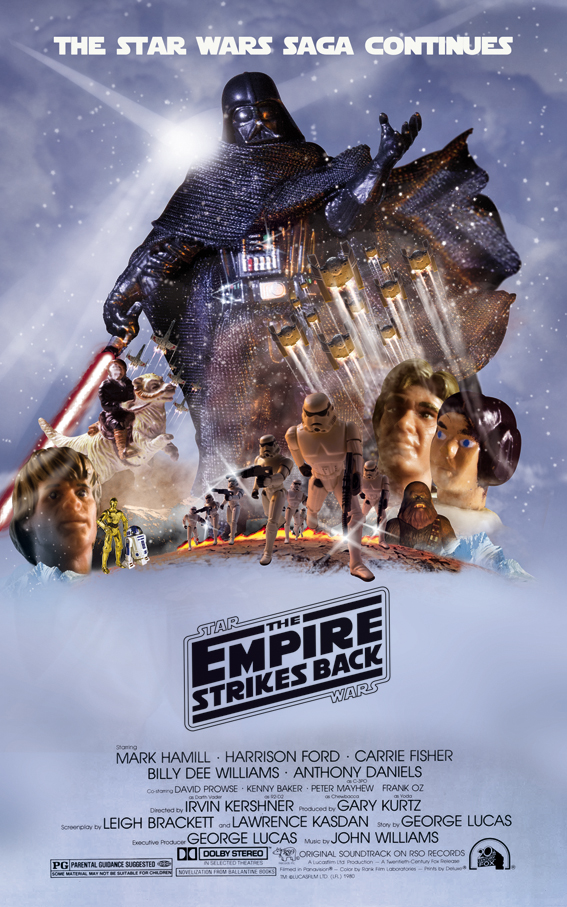 The Empire Strikes Back (Toys Version) © Enrique Ayllón, 2014